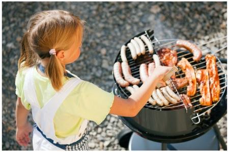 Stockfoto BBQ Kinderen (klein)
