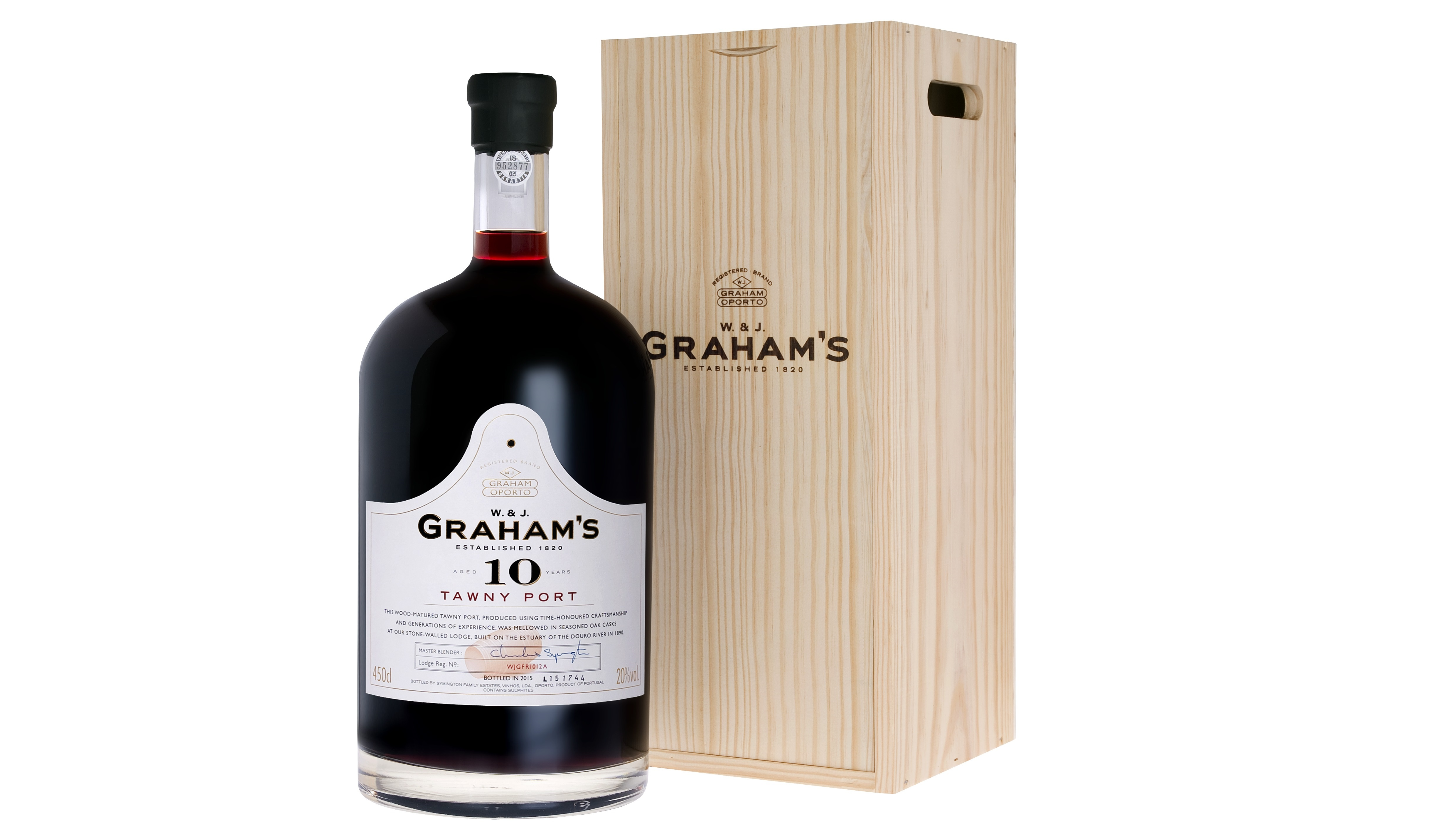 graham 39 s 10 year old tawny port 4 5 liter mckili. Black Bedroom Furniture Sets. Home Design Ideas